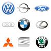 Neue Auto-Set-Logo | Stock Vektrografik