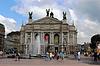 Architektonische Ensemble des Opernhaus in Lemberg Stadt | Stock Foto