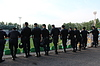 ID 4187653 | Policemen standing guard over order in stadium | 높은 해상도 사진 | CLIPARTO