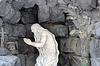 ID 4237147 | Weißen Statue des Mannes Philosoph in der Kaverne | Foto mit hoher Auflösung | CLIPARTO