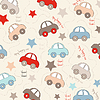 nahtloser Hintergrund mit Autos