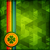 St. Patrick `s Day abstrakte Grunge-Hintergrund