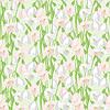 Frühlingsblumen Schneeglöckchen natürlichen nahtlose Muster