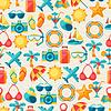 Reisen und Tourismus nahtlose Muster