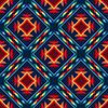 Tribal abstrakte nahtlose Muster aztekische geometrische