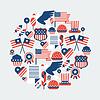 Vereinigte Staaten von Amerika Independence Day nahtlose