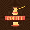 Kaffee-Menü für Restaurant, Café, Bar und