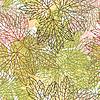 Nahtlose Muster mit stilisierten Blätter im Herbst