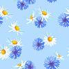 꽃 원활한 패턴 | Stock Vector Graphics