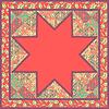 Quilt Abstraktes Nahtloses Muster