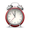Векторный клипарт: Будильник часы