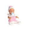 Lalka Baby w różowy ubrania | Stock Foto