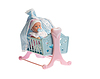 Baby doll in cradle | Stock Foto