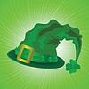 Zielony kapelusz w dzień Świętego Patryka | Stock Vector Graphics