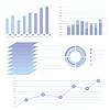 Moderne Infografik für Business-Projekt