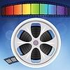 Векторный клипарт: Старый фильм полосы