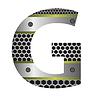 Векторный клипарт: перфорированного металла письмо G