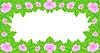 Векторный клипарт: фон с цветами