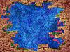 ID 4142568 | Märchen abstrakten Hintergrund mit blauen Raum und | Illustration mit hoher Auflösung | CLIPARTO