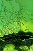 Estilizada líquido textura verde como abstracto antecedentes | Foto de stock