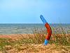 ID 4258389 | Boomerang eingewachsene Sandstrand | Foto mit hoher Auflösung | CLIPARTO
