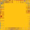 Abstrakter gelben Hintergrund mit karierten Grenze | Stock Illustration