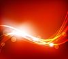 抽象的红色背景 | 向量插图