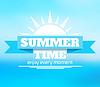 여름 배경 | Stock Vector Graphics