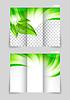 Tri-fach Broschüre Template-Design
