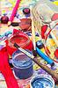 Akcesoria artystyczne dla rysunku | Stock Foto