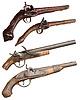 ID 4242146 | Isolated vintage Feuerwaffen Pistolen der XIVII-XIX | Foto mit hoher Auflösung | CLIPARTO