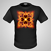 Male T-Shirt mit Print