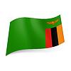 Staatsflagge von Sambia