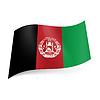 Staatsflagge von Afghanistan