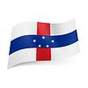 Staatsflagge von Niederländische Antillen