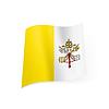 Staatsflagge des Vatikan