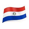 Staatsflagge von Paraguay