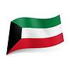 Staatsflagge von Kuwait