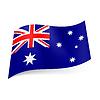 Staatsflagge von Australien