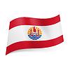 Flagge von Französisch-Polynesien