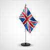 Tabelle Flagge von Großbritannien