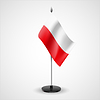 Tabelle Flagge Polens