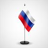 Tischfahne der Russischen Föderation