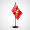 Tischfahne von Vietnam