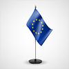 Tischfahne der Europäischen Union