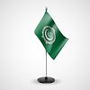 Tischfahne der arabischen Liga