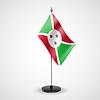 Tischfahne von Burundi