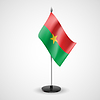 Tabelle Flagge von Burkina Faso