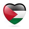 Herz-Symbol Palästinas