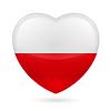 Herz-Symbol in Polen